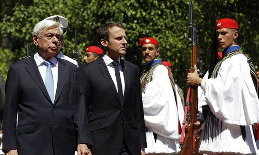 French President voices France's commitment to stand by Greece