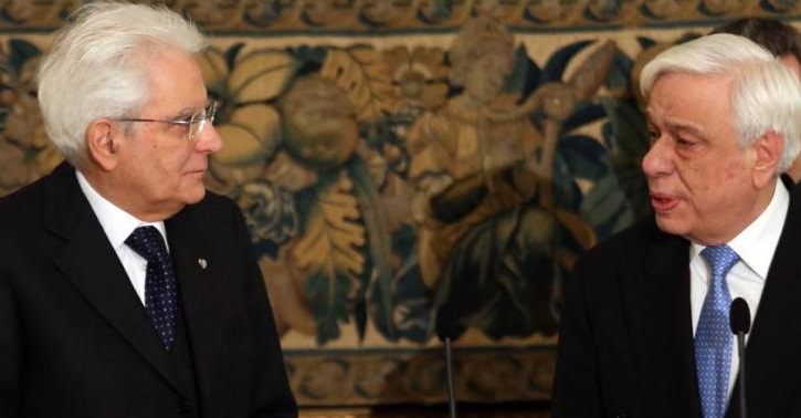 European edifice dominates Pavlopoulos-Mattarella meeting in Athens