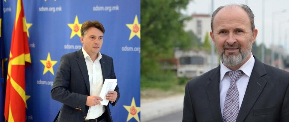Silegov and Trajanovski will run for the city of Skopje
