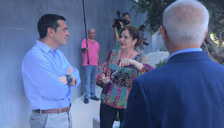 Tsipras: 'What Barcelona is for football, Apivita is for cosmetic products""