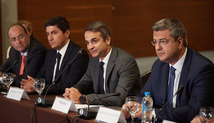 Mitsotakis: Only New Democracy can implement a realistic programme