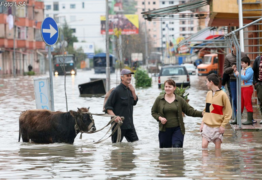 National Council of Water: 565 thousand residents are threatened by floods in Albania