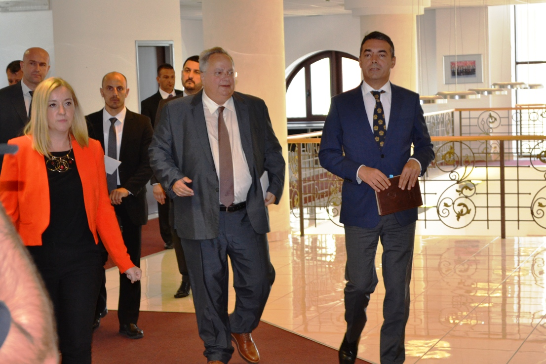 Ice in Athens – Skopje relations breaks after constructive Kotzias – Zaev meeting