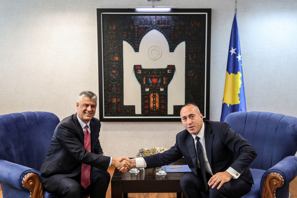 President and Prime Minister of Kosovo coordinate their actions about the European Atlantic agenda