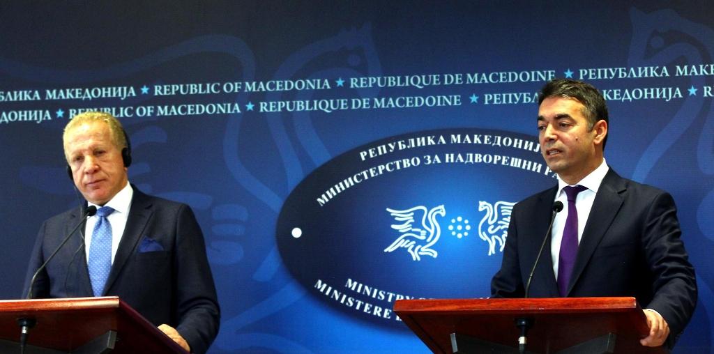 Kosovo's Foreign Minister visits Skopje