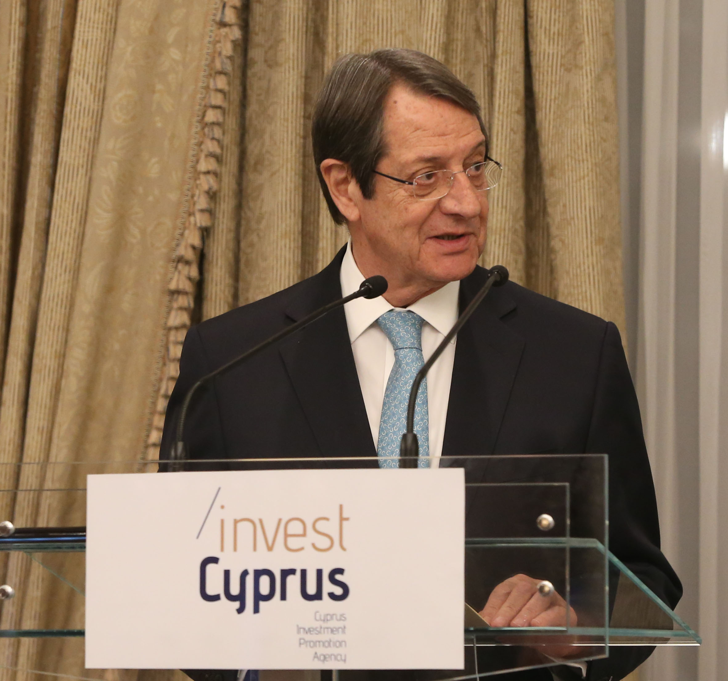 President Anastasiades attends Cyprus-Russia business dinner organized by CIPA