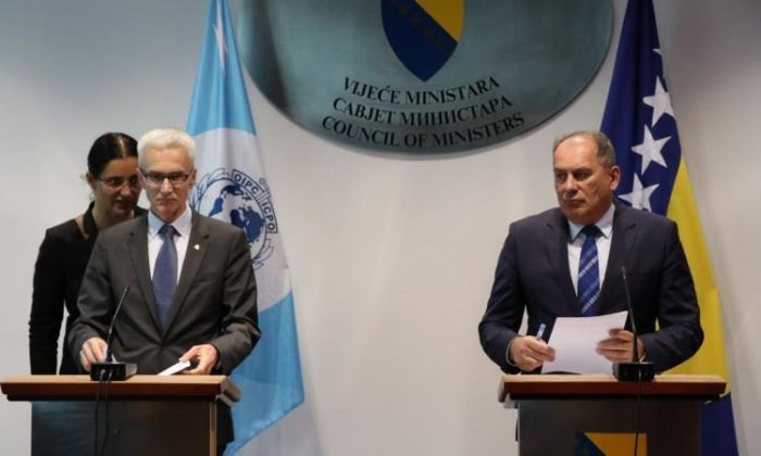Interpol Secretary General Jurgen Stock visits BiH