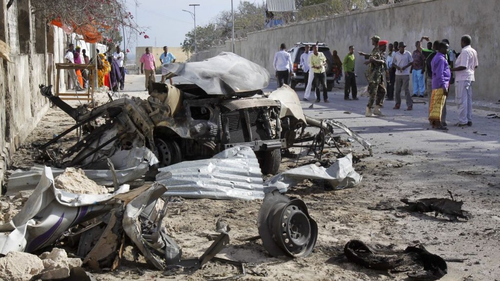 Somali intel official: Deadliest attack targeted Turkish military base
