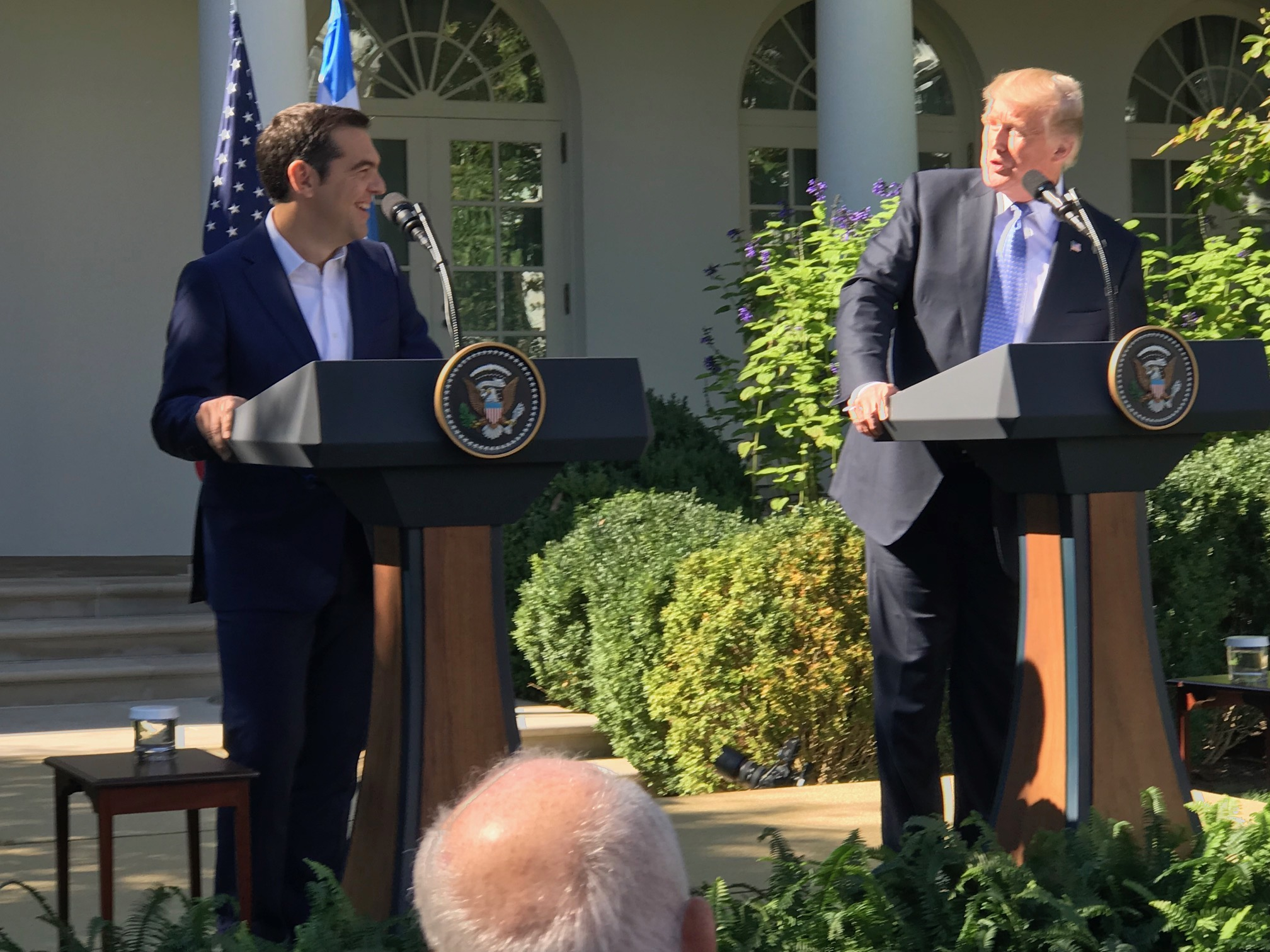 Greek PM meets with US president; urges US investors to pick Greece