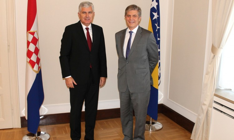 Covic – Wigemark meet to discuss conclusions of EU Council