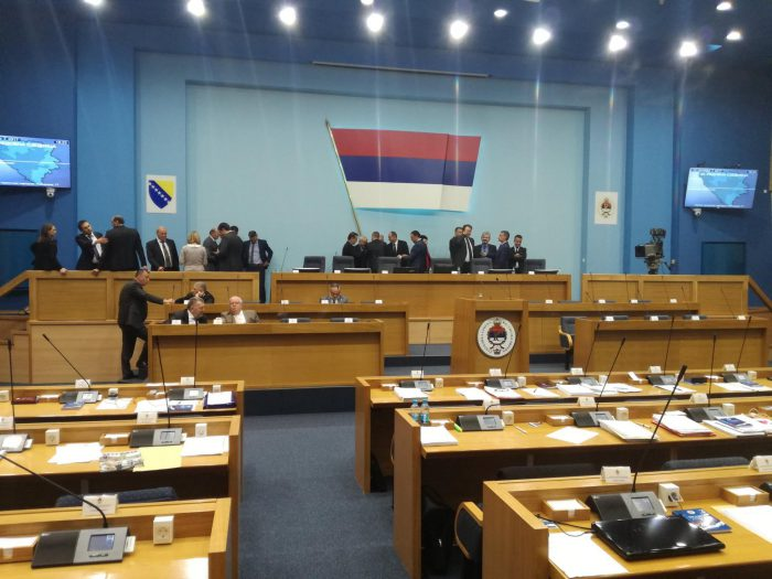 Republic of Srpska: Interruption of National Assembly session, Expulsion of opposition MPs