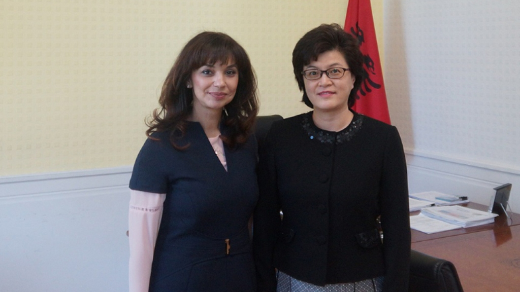 China is looking to boost cooperation with Albania