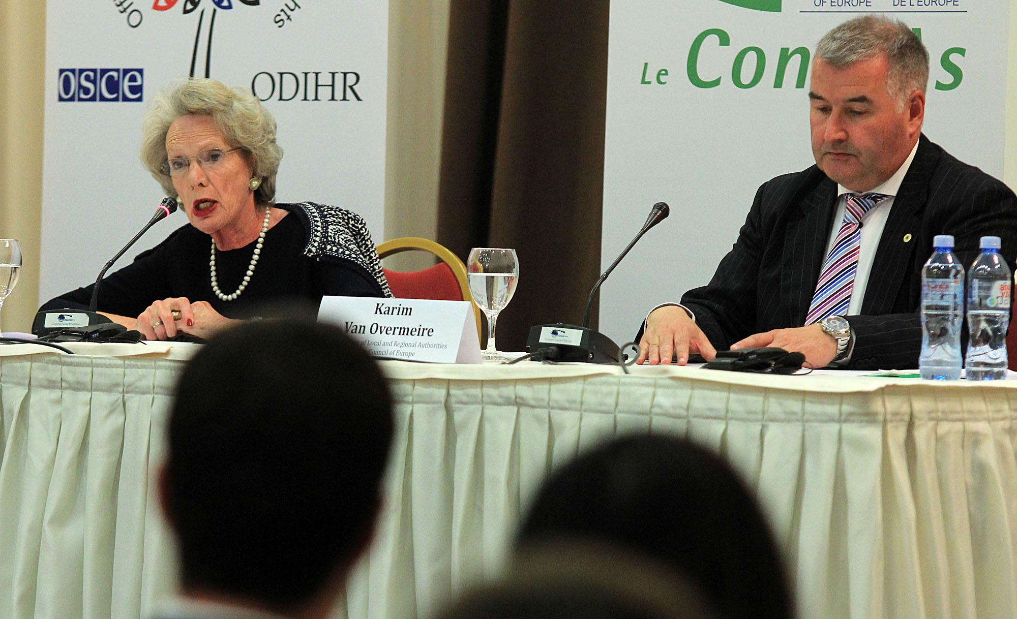 OSCE/ODIHR: Elections marked a democratic advance