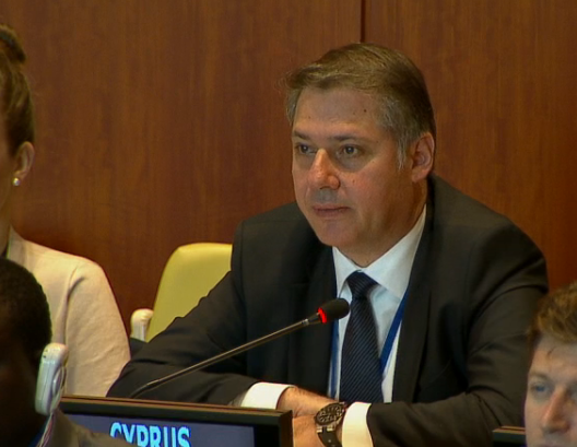 Cyprus amongst the proponents of the UN Programme for promoting international law – Ambassador Korneliou