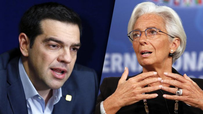 "Tsipras, Lagarde hold ""productive meeting"" in Washington"