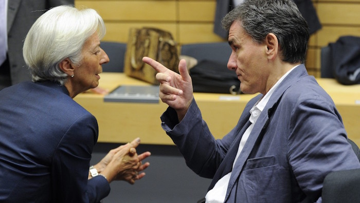 Greek Finance Minister holds positive meeting with IMF chief