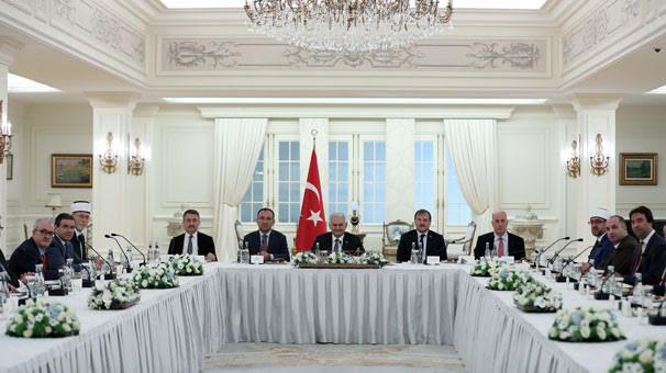Members of Greece's Muslim minority visit Ankara