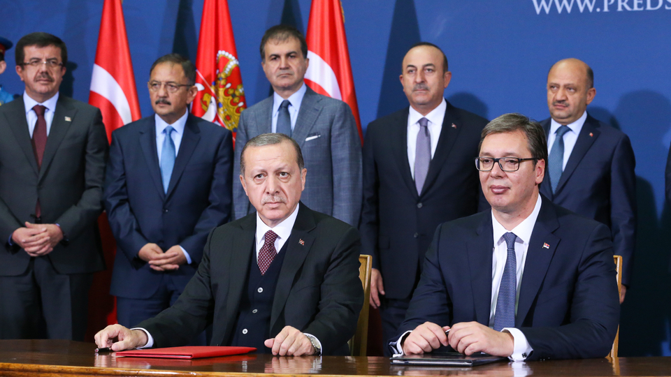Belgrade: Stronger ties between Serbia and Turkey – Erdogan accuses the US for the visa crisis