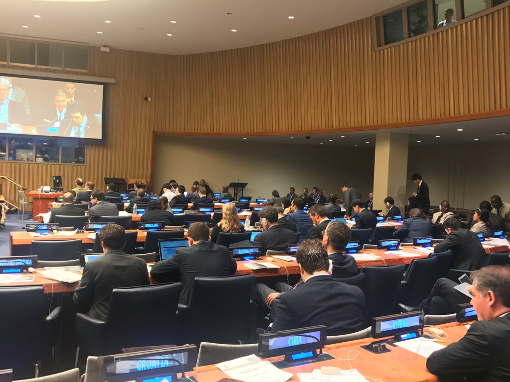 UN Permanent Representative participates at General Debate of the First Committee on Disarmament and International Security