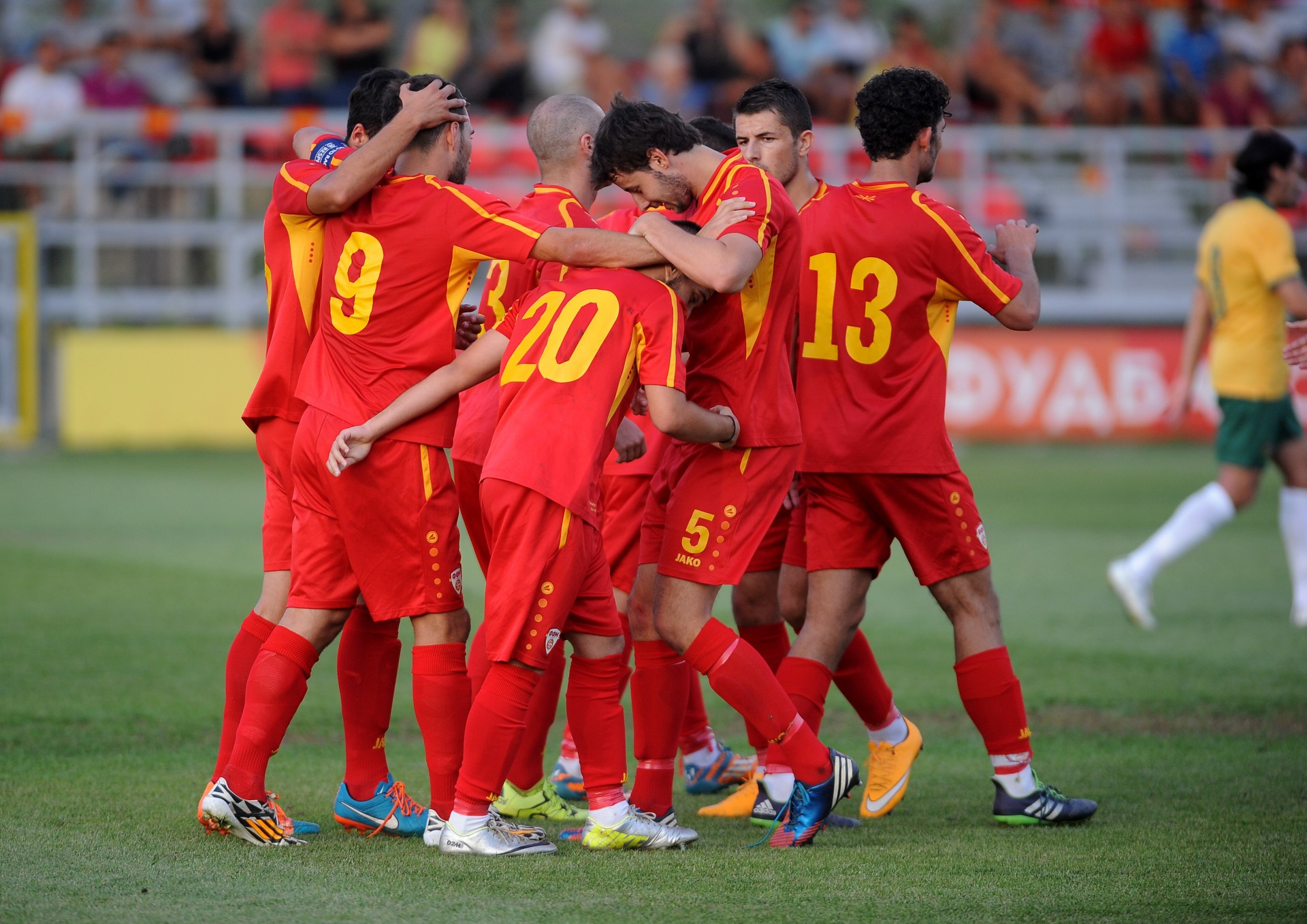 FYROM loses a place in the FIFA ranking