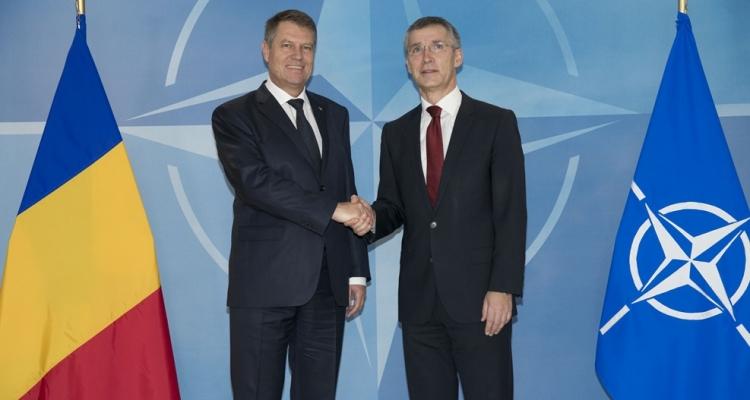 NATO Secretary General meets President Iohannis in Romania