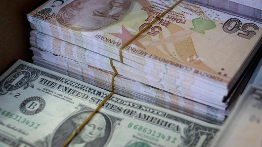 Turkish lira loses ground against the US dollar – exchange rate at 3.71