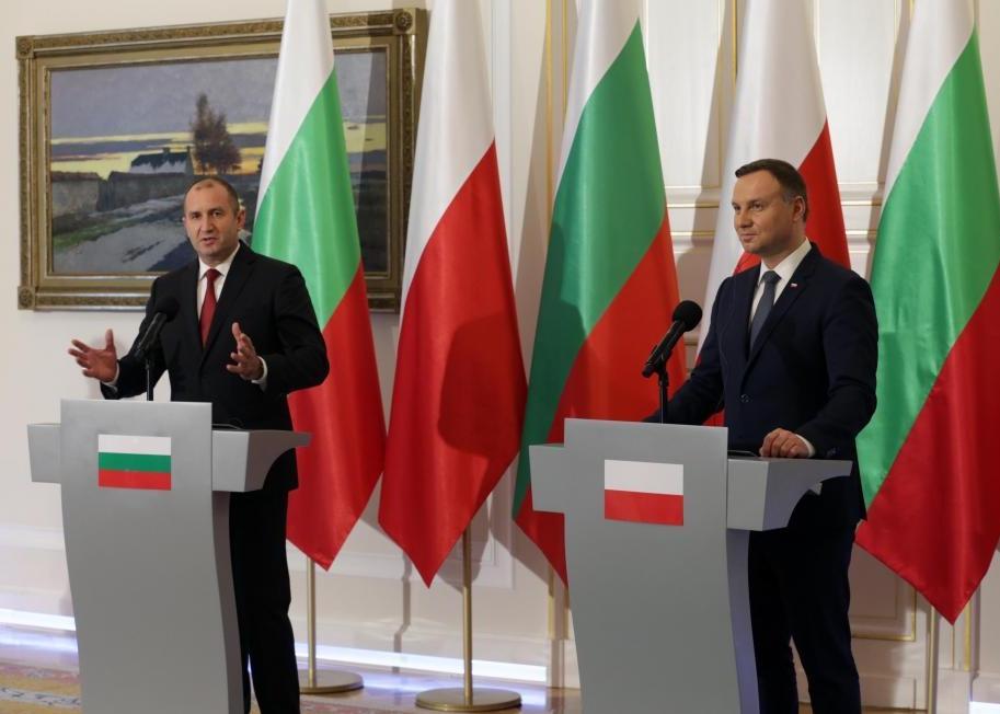 Bulgarian President's visit to Poland highlights EU divides