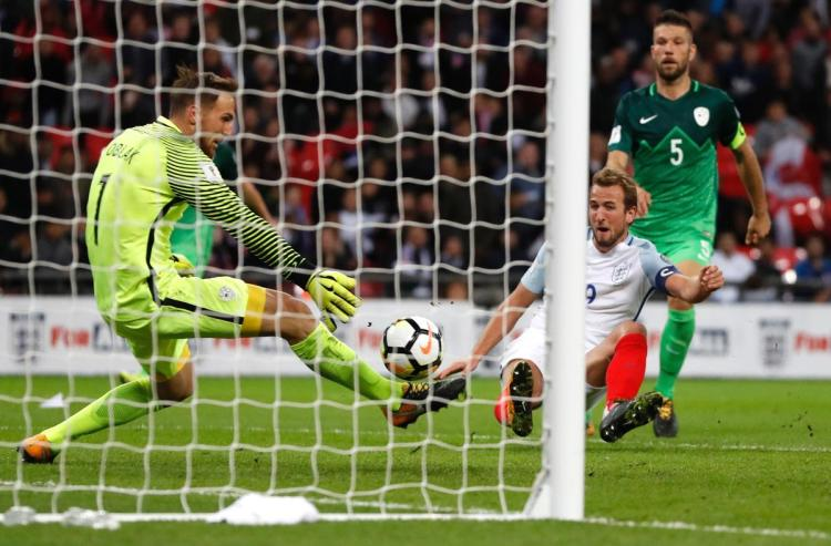 Slovenia lose 2018 World Cup qualifier against England
