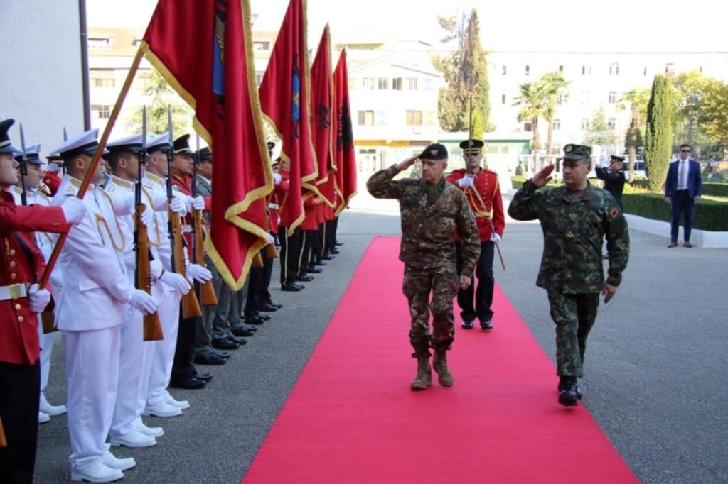 KFOR Commander in Tirana: Albania is a trusted partner