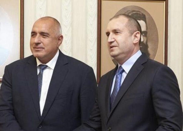 War and peace? Bulgarian PM Borissov claims 'wonderful dialogue' with President Radev