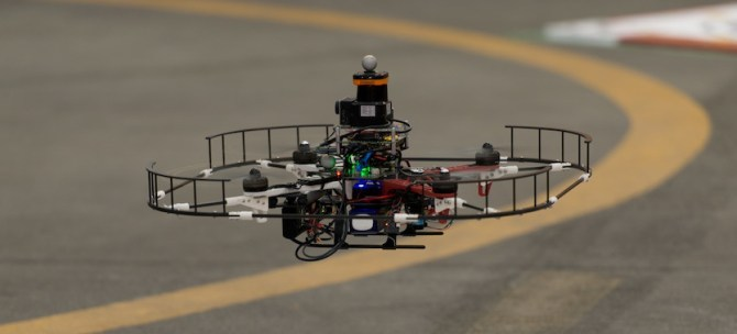 A Greek researcher and the new generation of drones