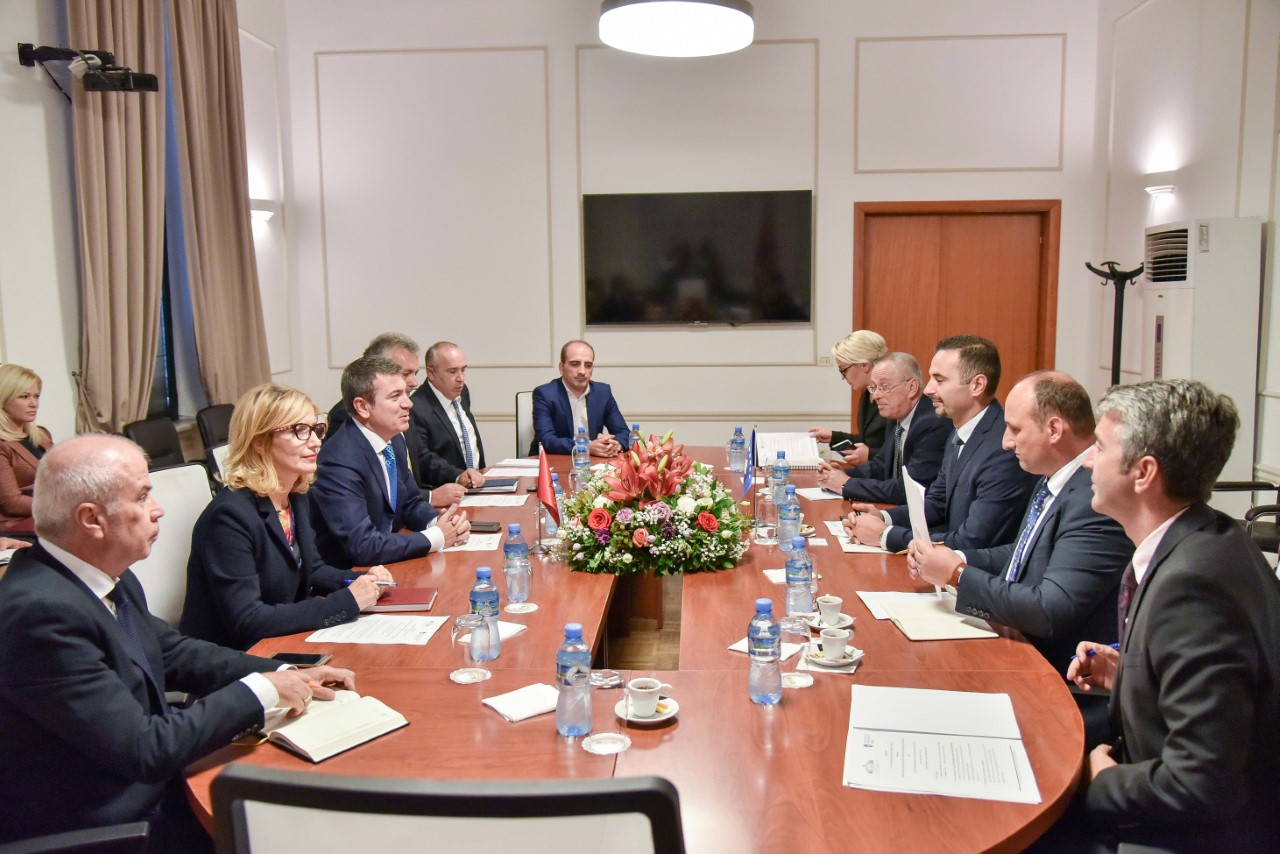 Cooperation between Albania and Kosovo in the domain of energy