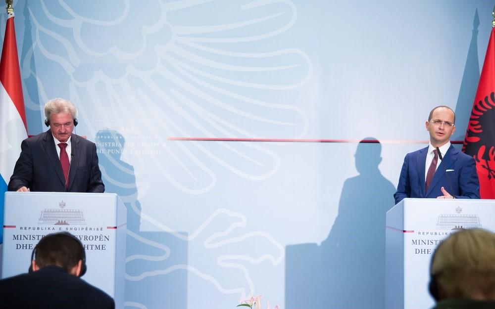 Bushati-Asselborn: Catalonia and Crimea cannot be compared to Kosovo