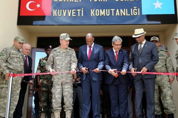 Turkey inaugurates military base in Somalia