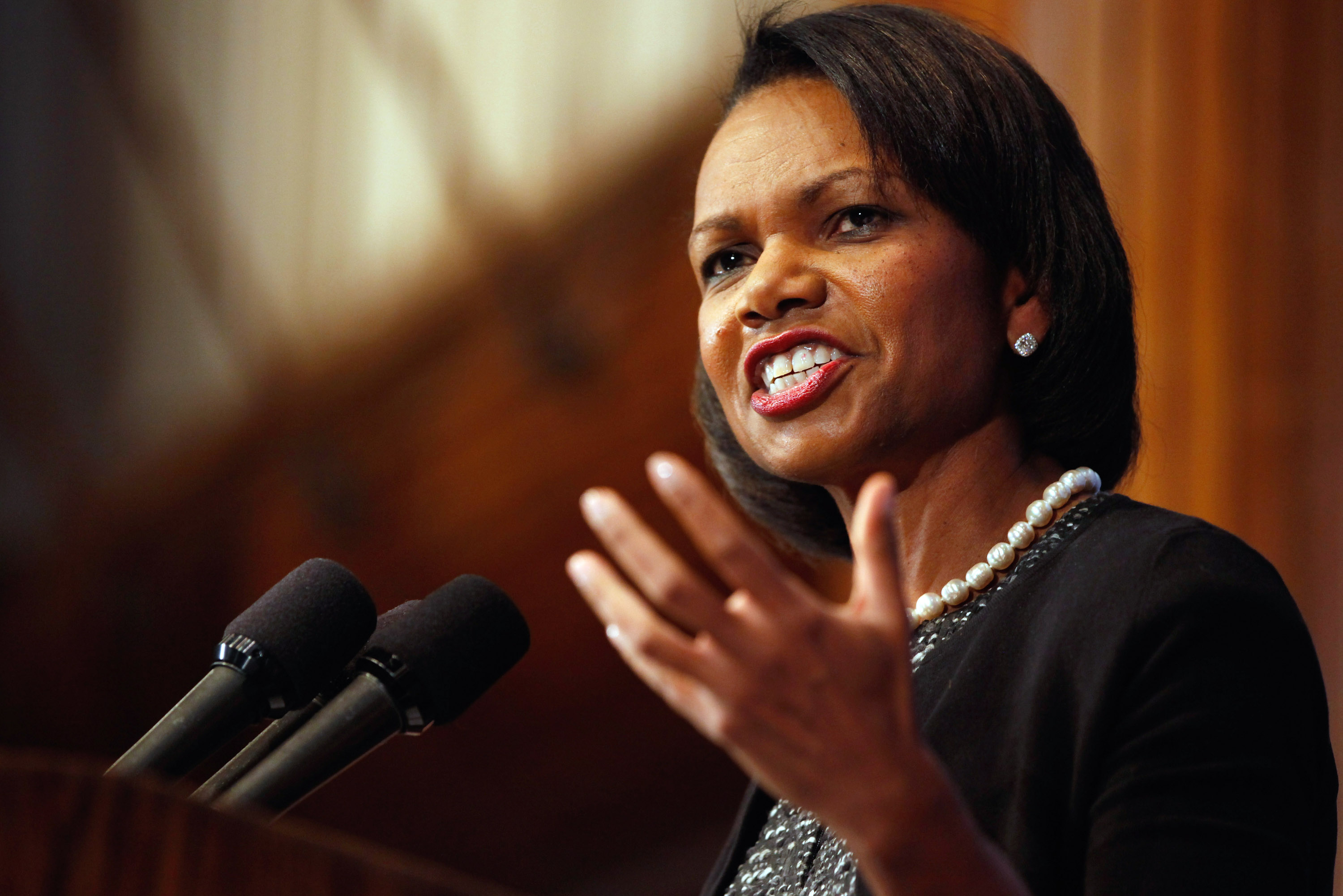 """Condoleezza Rice """"almost certainly"""" engages in the Balkans"""