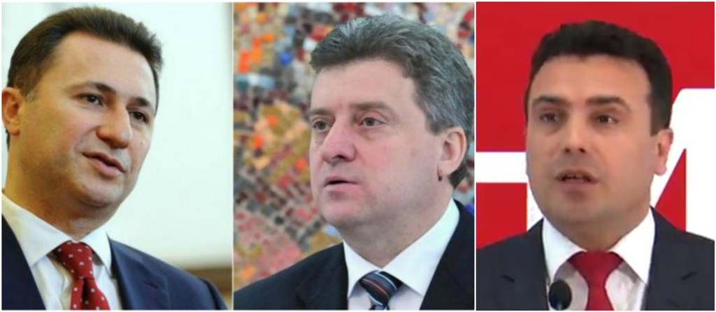 President Ivanov holds talks with Zaev and Gruevski to reduce tensions