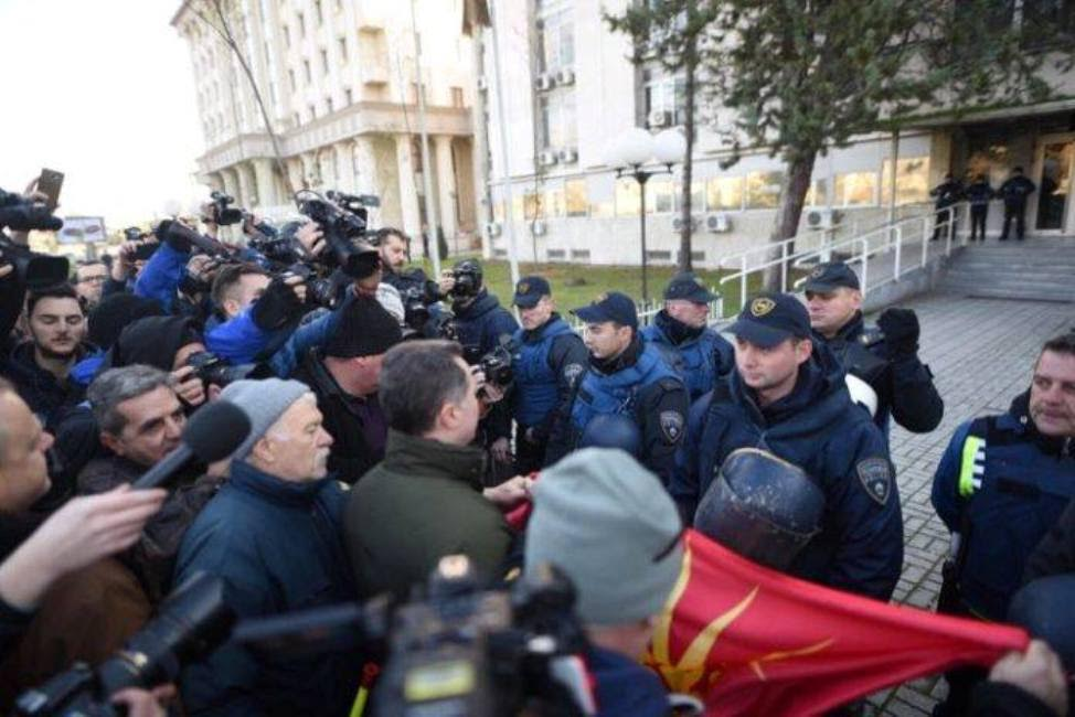 36 prosecuted for 'terrorist endangerment of the constitutional order and security' – Gruevski wants them released