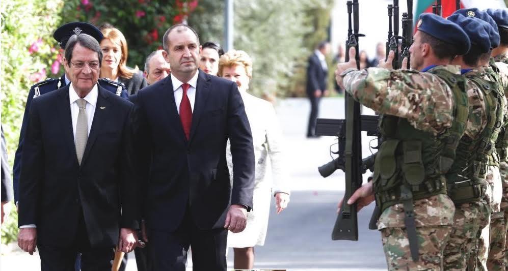 Radev and Anastasiades: Bulgaria, Cyprus share positions on energy, migration, growth policies