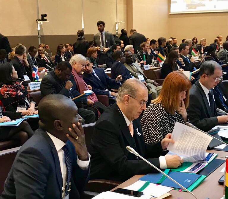 FM Kasoulidesparticipated in the 34th Ministerial Conference of La Francophonie