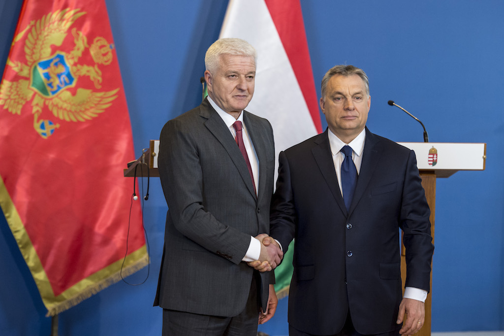 Montenegro's PM at the 6th CEEC-China Summit