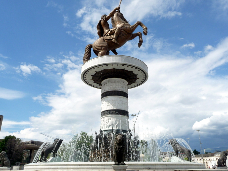 fYROMacedonian Government ready to remove the statues from the center of Skopje and rename the airport