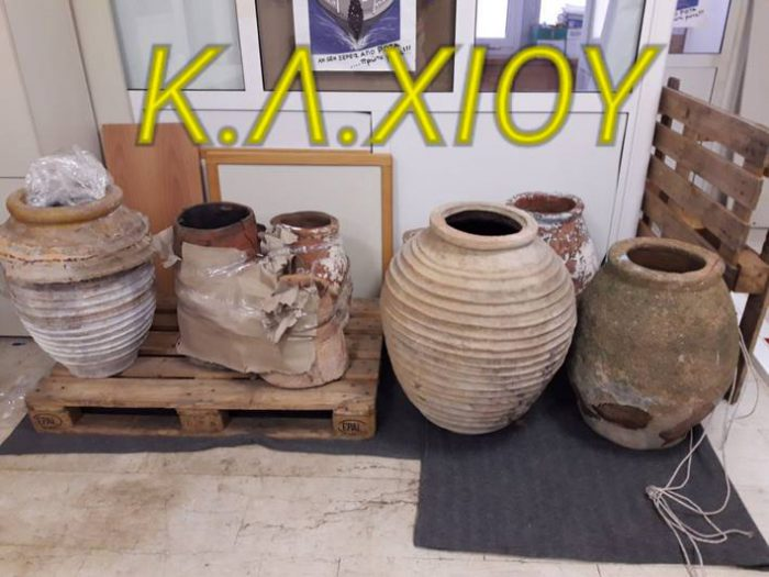 Greece: Chios authorities arrest 3 antiquity smugglers