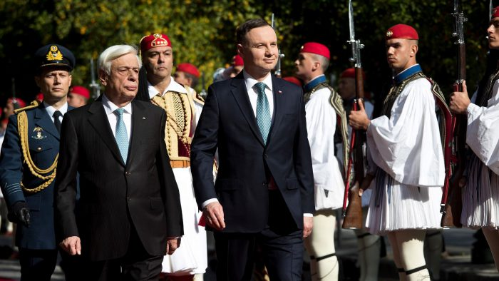 Pavlopoulos says Greece and Poland are ready to fight together for a stronger EU