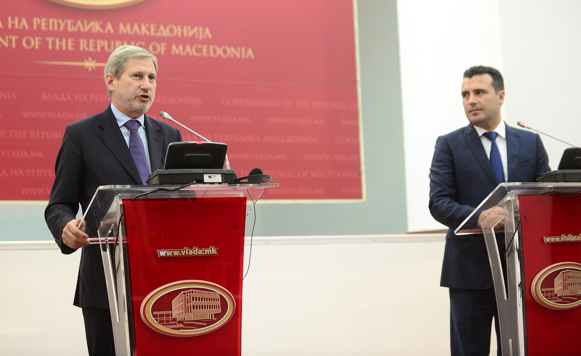 Hahn in Skopje: We're in the right path, but we need to see concrete results