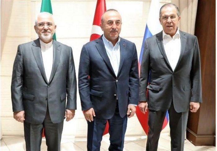 Meeting of the Turkish, Russian and Iranian FMs