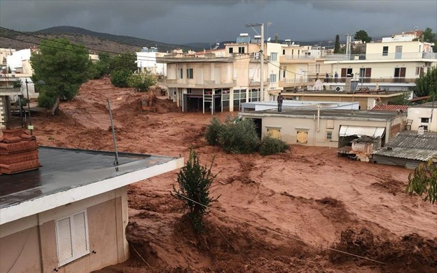 Greece: Death toll reaches 23 due to flash floods in western Attica (Upd)