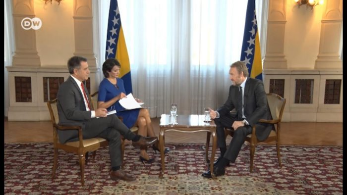 Izetbegovic's statement harmed regional and within BiH relations