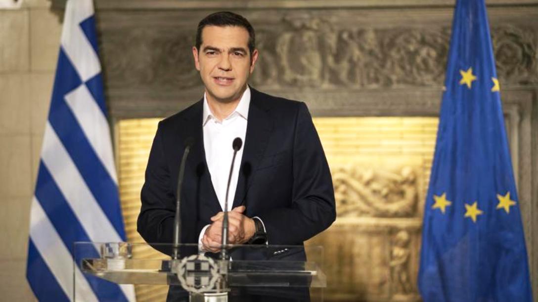 Tsipras announces disbursement of 1.4 billion euro holiday bonus
