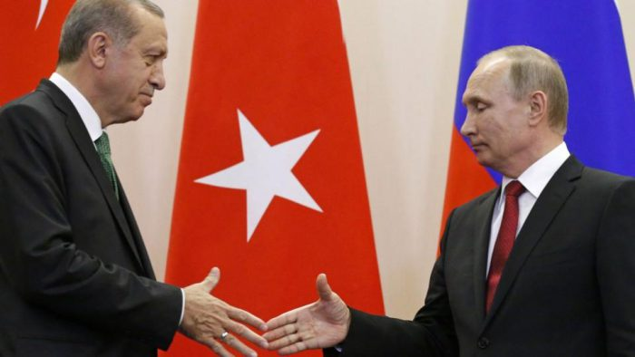 Erdogan-Putin positive on strengthening bilateral ties