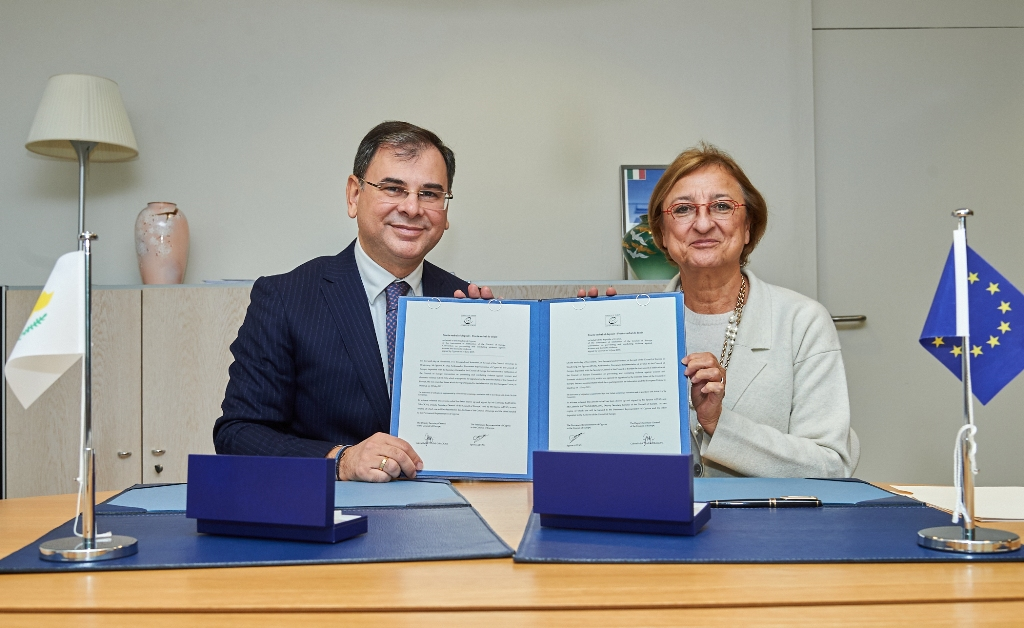 Republic of Cyprus ratifies Council of Europe's Convention on Preventing and Combating Violence against Women and Domestic Violence